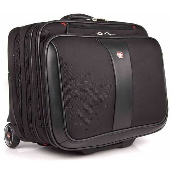 Wenger Swissgear Patriot Roller 2 Piece Travel Set for Laptops up to 17 - Black