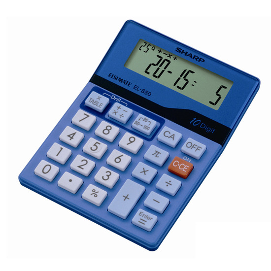 ELS50BBL Maths Excercise Calculator