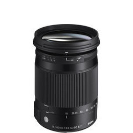 Sigma 18-300mm f/3.5-6.3 DC Macro HSM Contemporary Lens - Nikon Fit Reviews