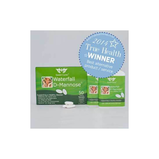 Waterfall D-Mannose Tablets 50 1g Tablets in pocket packs