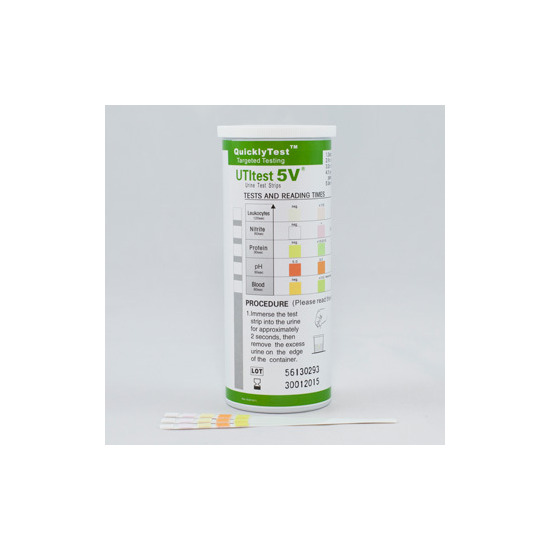 Quickly Test UTI 5V 50 Urine Test Strips