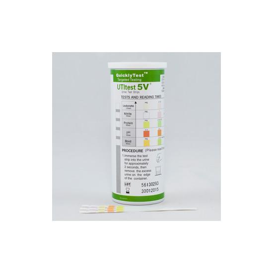 Quickly Test UTI 5V 50 Urine Test Strips