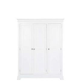 Ultimum Banbury Elegance White Triple Wardrobe