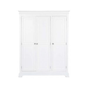 Photo of Ultimum Banbury Elegance White Triple Wardrobe Furniture
