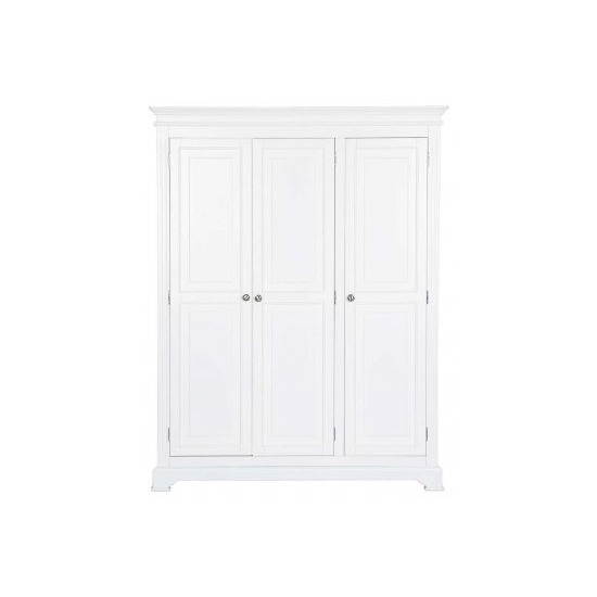 Ultimum Banbury Elegance White Triple Wardrobe