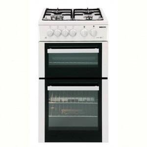 Photo of BEKO Freestanding Gas Cooker In White BDG582LWP Cooker