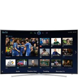 """SAMSUNG 48"""" Curved 3D Smart TV with HD & 2x 3D Glasses UE48H8000 Reviews"""