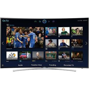 "Photo of SAMSUNG 48"" Curved 3D Smart TV With HD & 2X 3D Glasses UE48H8000 Television"