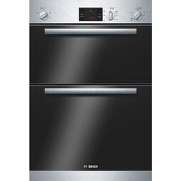 BOSCH Built-in Double Oven in Stainless Steel HBM13B150B Reviews