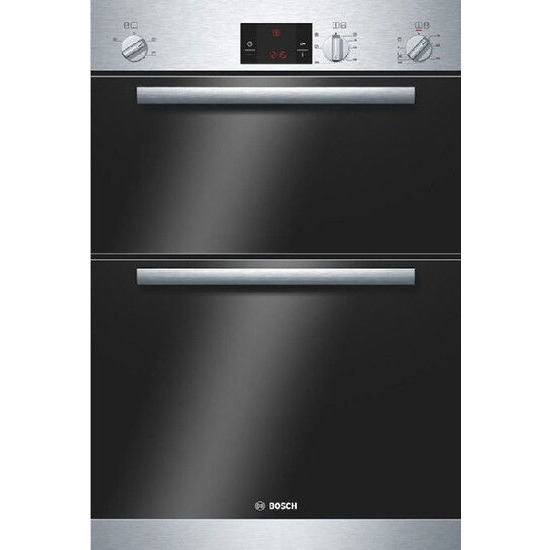 BOSCH Built-in Double Oven in Stainless Steel HBM13B150B