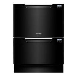 FISHER & PAYKEL Double Dishwasher in Black DD60DCHB7 Reviews