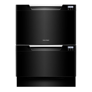 Photo of FISHER & PAYKEL Double Dishwasher In Black DD60DCHB7 Dishwasher