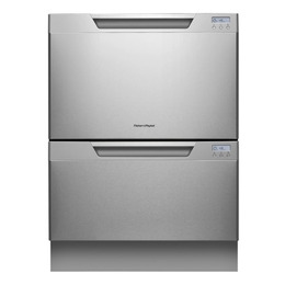 FISHER PAY DD60DCHX7 Full-size Integrated Dishwasher - Stainless Steel - Trade-in offer