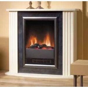 Photo of DIMPLEX 'Mozart' Log Effect Suite With Cream Surround MZT20 Electric Heating