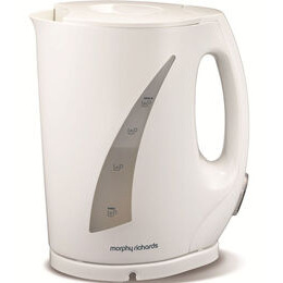 MORPHY RICHARDS Essentials Jug Kettle in White 43485 Reviews