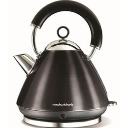 MORPHY RICHARDS Accents Pyramid Kettle in Black 43776 Reviews