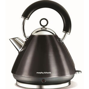 Photo of MORPHY RICHARDS Accents Pyramid Kettle In Black 43776 Kettle