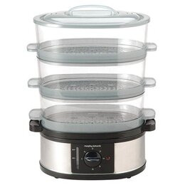 MORPHY RICHARDS 48755 3 TIER FOOD STEAMER Reviews