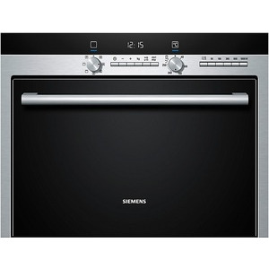 Photo of SIEMENS Built-In Combination Oven In Stainless Steel HB84E562B Microwave