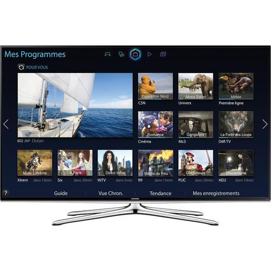 """SAMSUNG 60"""" 3D Smart TV with Built in Wifi UE60H6200"""