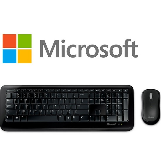 Microsoft 2LF-00021 Wireless Desktop 800 Keyboard and Mouse Set