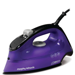 Breeze Steam 300253 Steam Iron - Black & Purple Reviews