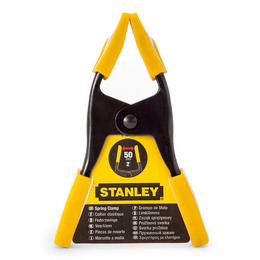 Stanley 9-83-080 Metal Spring Clamp 50mm (Single) Reviews