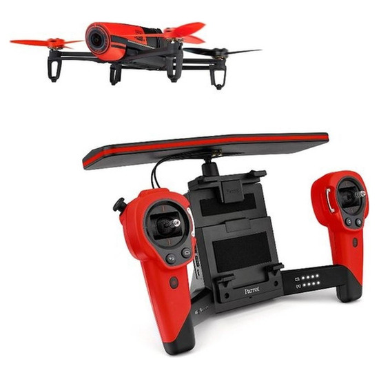 Parrot Bebop Drone with SkyController - Red