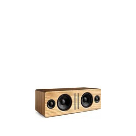 Audioengine B2 Wireless Bluetooth Speaker System Zebrawood