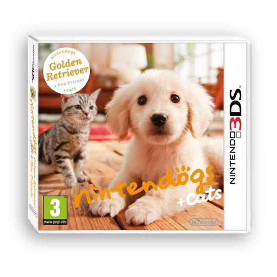 Nintendo Nintendogs & Cats: Golden Retriever and New Friends - for Nintendo 3DS
