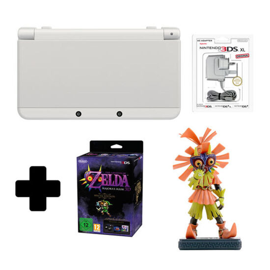 New Nintendo 3DS Black + Majoras Mask 3D Special Edition