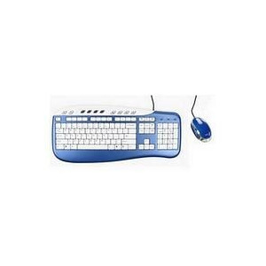 Photo of Saitek USB Multimedia Keyboard and Optical Mouse Keyboard