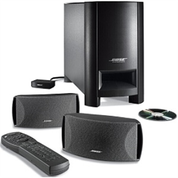bose cinemate gs 2 1 surround sound reviews prices and deals no disc drive home cinema system. Black Bedroom Furniture Sets. Home Design Ideas