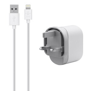 Photo of Belkin Wall Charger F8J112UK04-WHT Adaptors and Cable