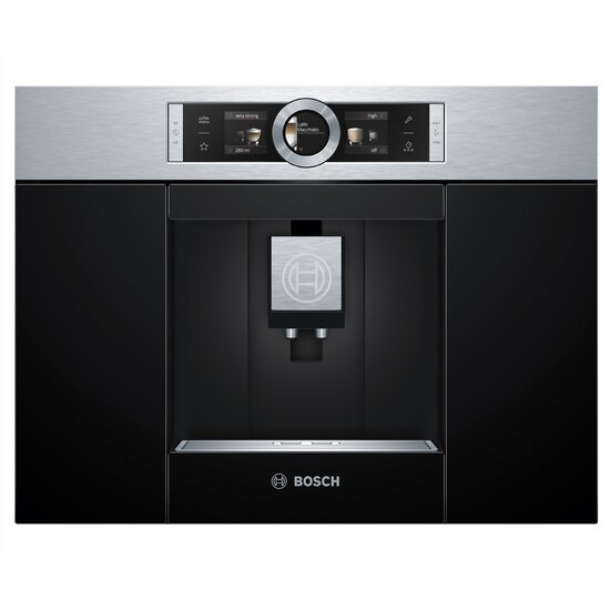 Bosch CTL636ES1 Built-in Bean to Cup Coffee Machine - Stainless Steel
