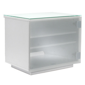 Photo of UK-CF BARCELONA GLOSS WHITE & WHITE GLASS TV Stands and Mount