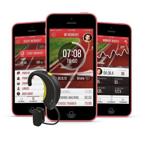 Lumafit Interactive Coach Wearable Fitness Technology System
