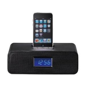 Photo of IWANTIT IPHDKDB10 DAB/FM Clock Radio With iPhone/iPod Docking Station - Black iPod Dock
