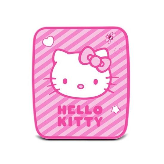 HELLOKITTY Candy Stripe Mouse Mat - Pink