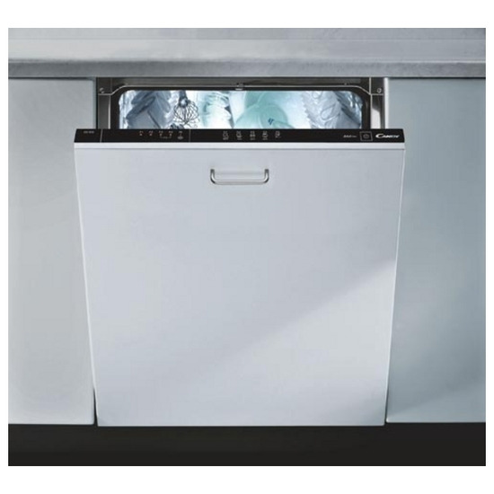 Candy CDI1012 Full-size Integrated Dishwasher - White