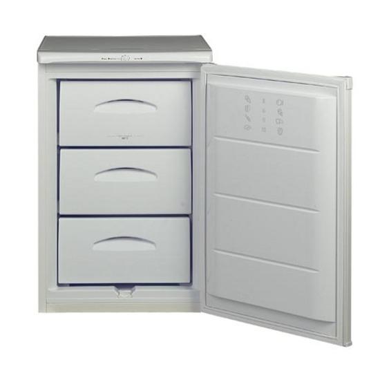 HOTPOINT RZAV21P Undercounter Freezer - White