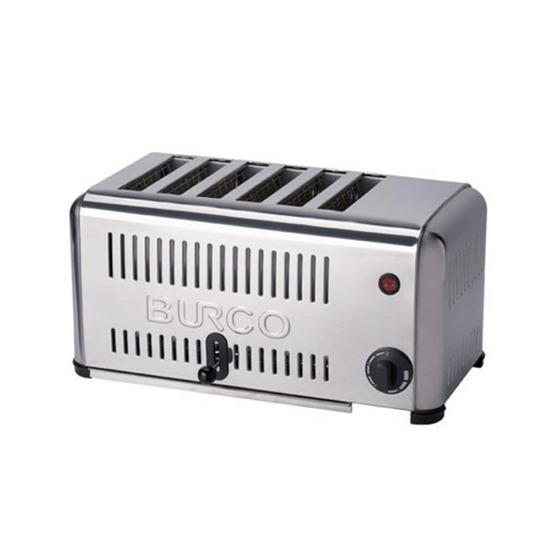 BURCO TSSL06 6-Slice Toaster