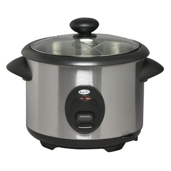 BREVILLE RC3 Rice Cooker - stainless steel