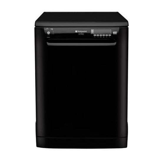 Hotpoint FDUD4212P Fullsize Dishwasher