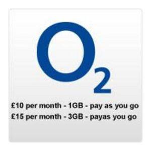 Photo of O2 O2 Pay As YOU Go iPad Micro SIM Mobile Phone Accessory