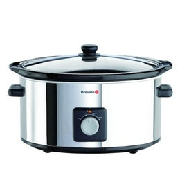 Breville VTP096 6.5 Litre Slow Cooker - Stainless Steel Reviews