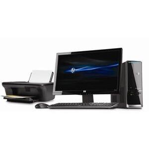 Photo of HP Pavilion S5545UK-P With Monitor & Printer Desktop Computer