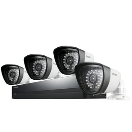 Samsung SDS-P3042 Four-Camera Four-Channel CCTV Kit Reviews