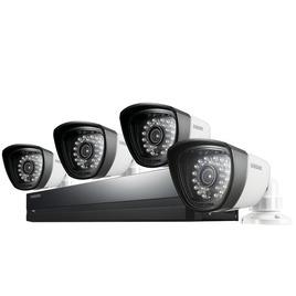 Samsung SDS-P3042 Four-Camera Four-Channel CCTV Kit Reviews