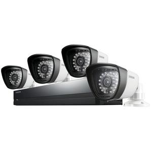 Photo of Samsung SDS-P3042 Four-Camera Four-Channel CCTV Kit CCTV